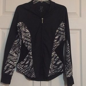 Jackets & Blazers - NYC women runner jacket zip up black small vented